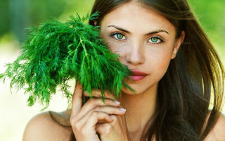 Укроп — эффективное косметическое средство для лица