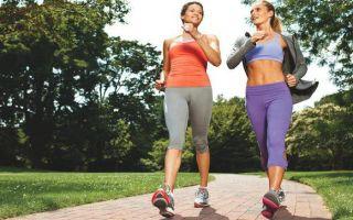 Спортивная ходьба для похудения: техника выполнения для начинающих