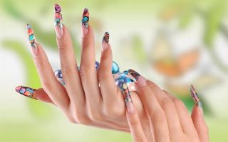 Наращивание ногтей: гелем, акрилом, на формах и типсах