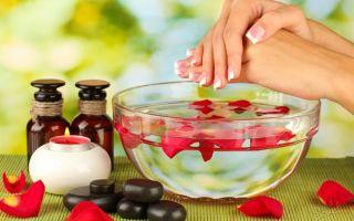 Ванночки для укрепления ногтей — 10 лучших рецептов