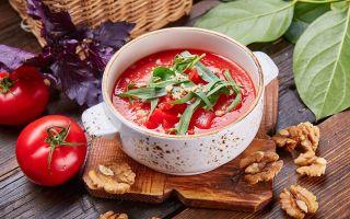 Диетический томатный суп для похудения: пошаговый рецепт