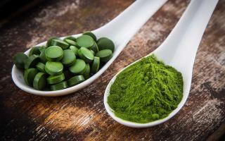 Спирулина: применение для снижения веса и похудения!