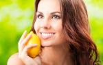 Маска для лица с лимоном — отбеливающая