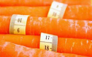 Морковь: полезный продукт при похудении или вред для фигуры?