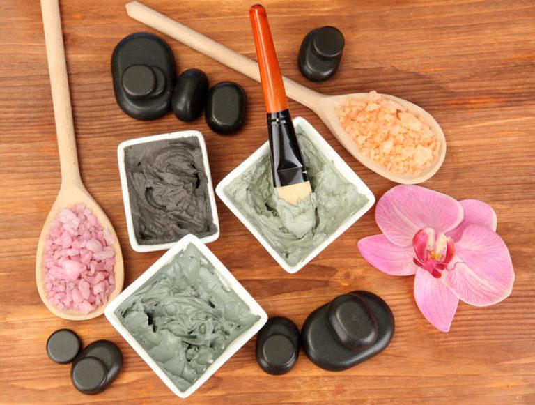 Рецепты красоты из чёрной глины