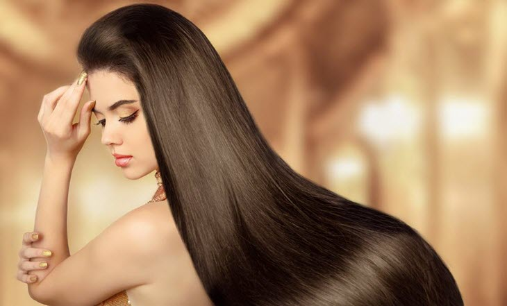 Жидкие кристаллы для здоровых и блестящих волос