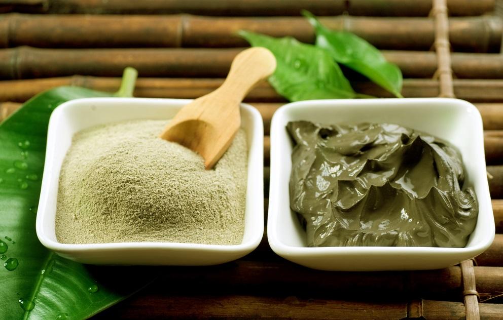 Воздействие на кожу зеленой глины