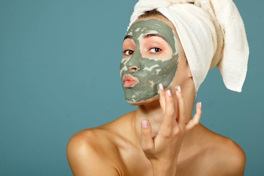 Рецепты масок c зеленой глиной