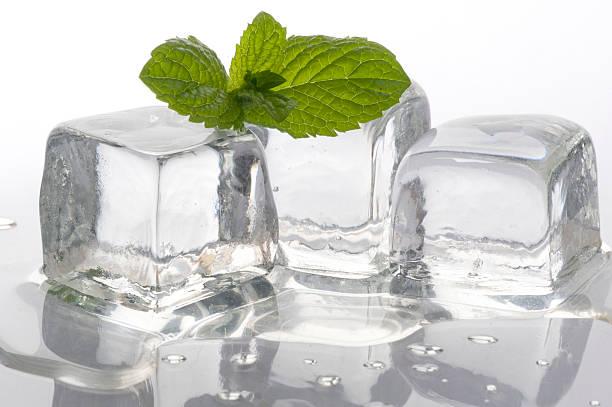 Мята для лица: эфирное масло, кубики льда, домашняя маска