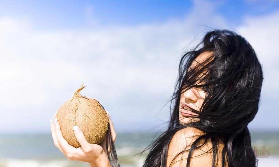 Рецепты масок из кокосового масла для волос.