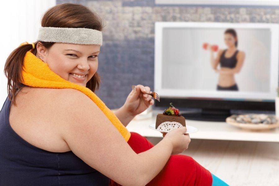 Способы борьбы с жиром в животе и боках.
