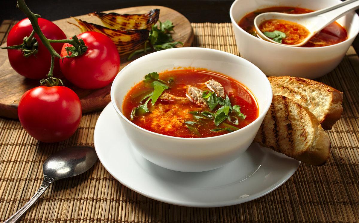 Вред томатного супа для похудения.