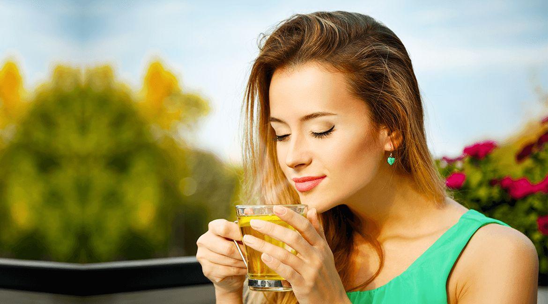 Зеленый чай с лимоном для похудения: как пить, польза и рецепты