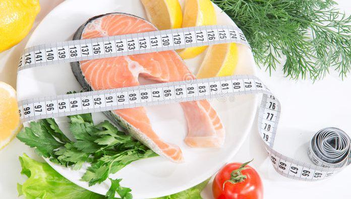 Пример диеты с блюдами из рыбы для похудения.