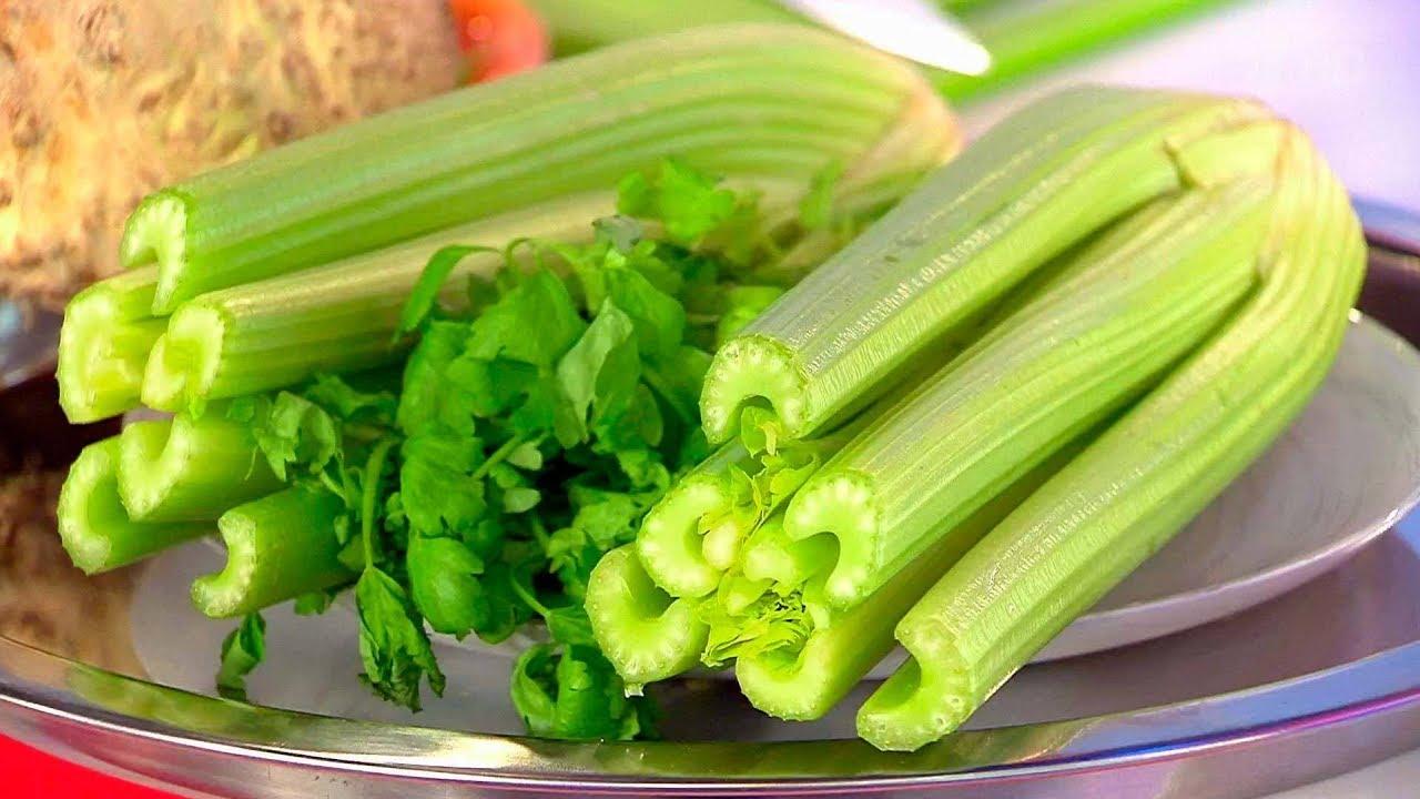 Рецепт приготовления правильного супа из сельдерея.