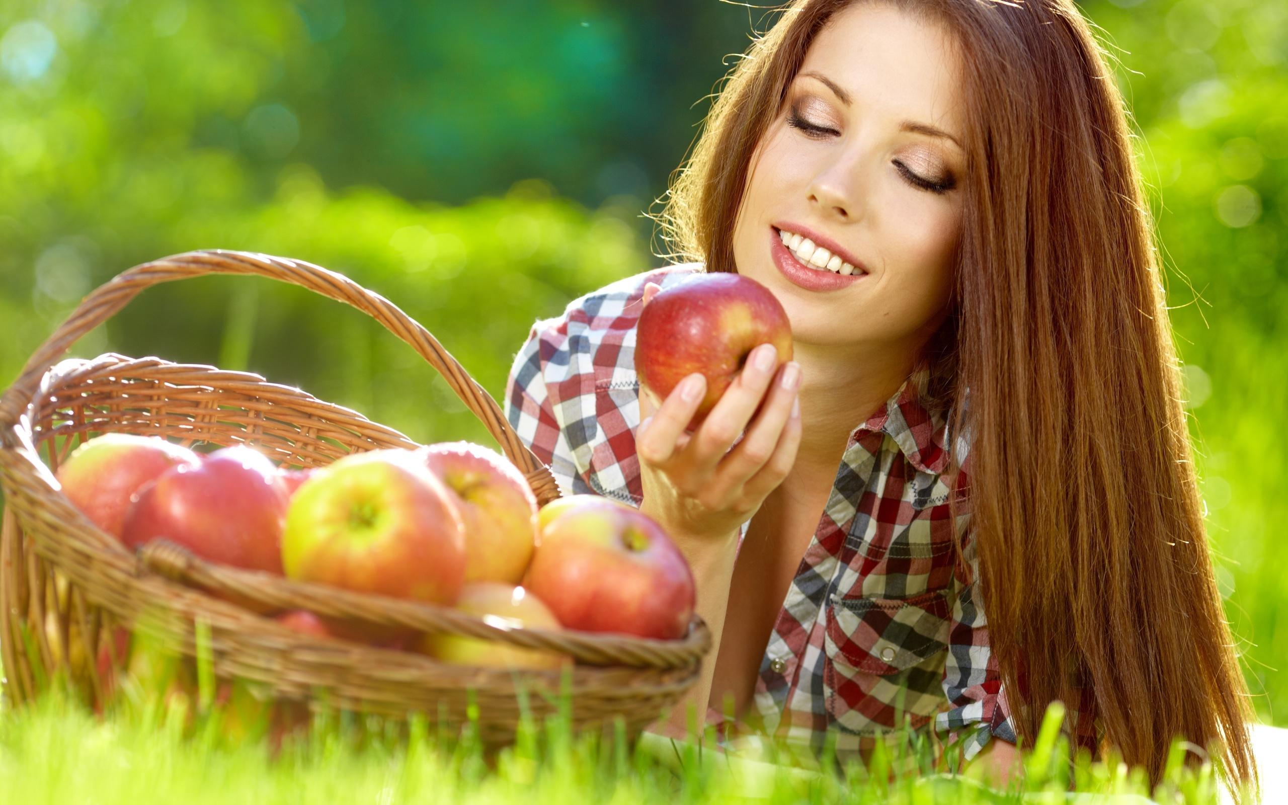 Польза яблок для похудения и здоровья
