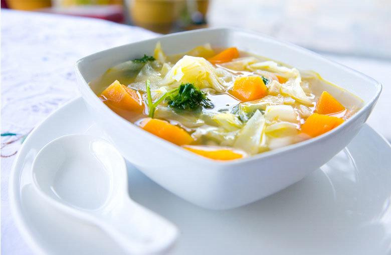 Как приготовить капустный суп для похудения?